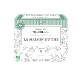 Ekologiška arbata LA MAISON DU THE Lime Flowers Infusion, 15 maišelių