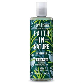 Balansuojamasis šampūnas FAITH IN NATURE su rozmarinais, 400 ml