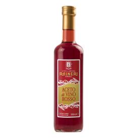 Natūralus raudonojo vyno actas RAINERI, 500 ml