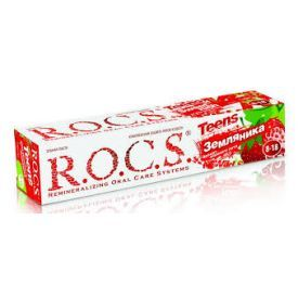 Dantų pasta R.O.C.S Sweet rush of wild strawberry nuo 8-18metų, 74 g