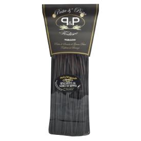 "Juodi makaronai Pasta&Pasta ""Spaghetti al nero di seppia"", spagečiai, 500 g"
