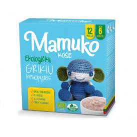 Ekologiškos grikių kruopytės košei MAMUKO vaikams nuo 6 mėn., 240 g