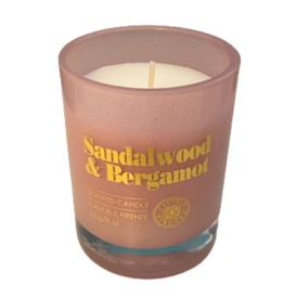 CANDELE FIRENZE žvakė santalo ir bergamotės kvapo, 55h, 230 g