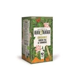 Ekologiška žalioji arbata su ciberžolėmis HEATH& HEATHER, 40g