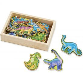 "Medinių magnetukų-dinozaurų rinkinys (20 vnt.) MELISSA & DOUG ""Dinosaur"", 1 vnt."