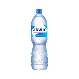 Negazuotas natūralus mineralinis vanduo Akvilė, 1,5L