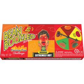 Saldainių JELLY BELLY FLAMING FIVE ruletė su aštriųjų pipirų skonių saldainiais, 100g