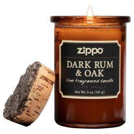 """Aromatinė žvakė ZIPPO """"Dark Rum & Oak"""", 1 vnt."""