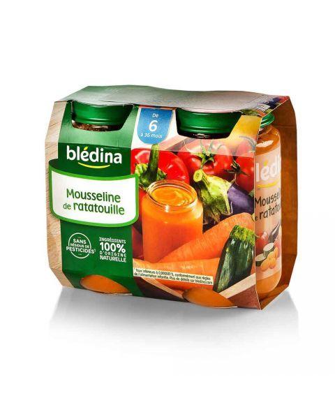 Daržovių troškinys BLEDINA nuo 6 mėn., 2X200 g