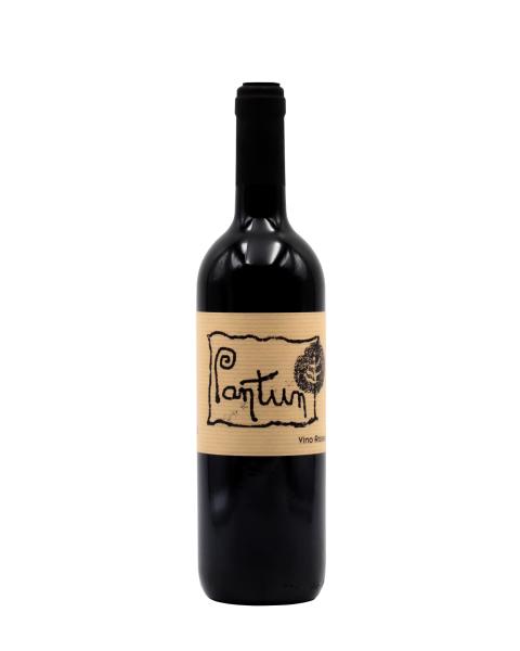 Ekologiškas raudonas sausas vynas Cantina Pantun Primitivo Rosso IGP 2016 13%, 750ml