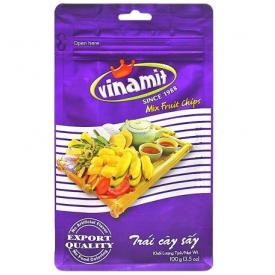 Džiovintų vaisių ir daržovių traškučiai VINAMIT, 100g