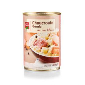 Rauginti kopūstai su mėsa BELLE FRANCE, 400 g