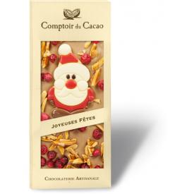 Šviesus šokoladas COMPTOIR du CACAO Xmas, 90 g