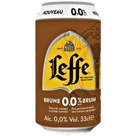 Nealkoholinis alus LEFFE Brune 330 ml