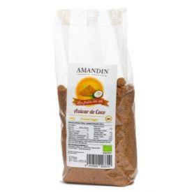 Ekologiškas kokosų žiedų cukrus AMANDIN, 400 g