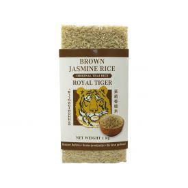 Rudieji Jasmine ryžiai ROYAL TIGER, 1 kg