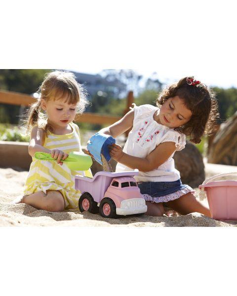 Sunkvežimis savivartis GREEN TOYS ™ (rožnė, violetinė), 1 vnt. 2