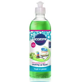 Agurkų ir obuolių kvapo indų ploviklis ECOZONE, 500 ml