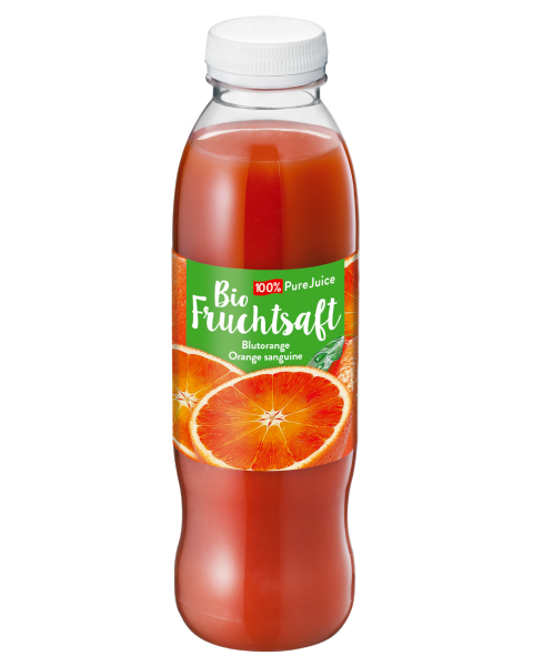 Ekologiškos 100% kruvinojo apelsino (Bloody Orange) sultys MOLKEREI, 500ml