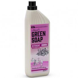 Skalbimo skystis MARCELS GREEN SOAP su pačiuliais ir spanguolėmis, 1 l