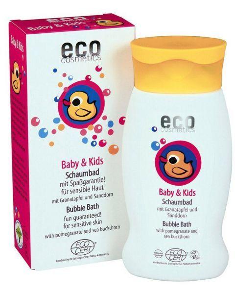 Vaikiškos vonios putos ECO COSMETICS su granatais ir šaltalankiais, 200 ml