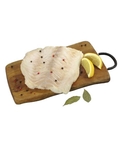 Atlantinės menkės filė su oda, 1 kg