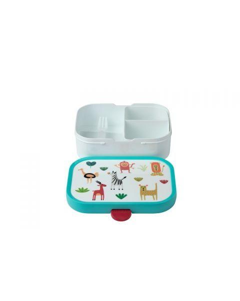"""Vaikiška maisto dėžutė su skyreliais MEPAL Campus """"Animal Friends"""", 1 vnt. 3"""