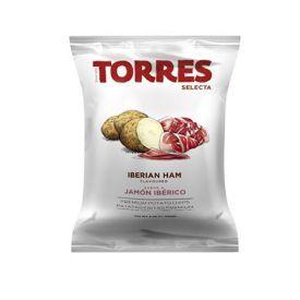 Bulvių traškučiai TORRES iberijos kumpio skonio, 150g