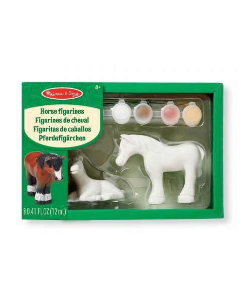 """Skulptūrėlių dažymo rinkinys MELISSA & DOUG """"Horses"""", 1 vnt."""