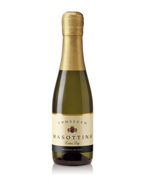 Putojantis sausas vynas Masottina Prosecco di Treviso Extra Dry DOC 11%, 200ml