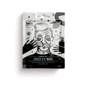 Paakių kaukė vyrams BEAUTY PRO su aktyvuota anglimi ir vulkaniniais pelenais,  3x3,5 g