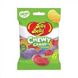 Rūgštūs kramtonieji saldainiai JELLY BELLY įvairių skonių, 60 g