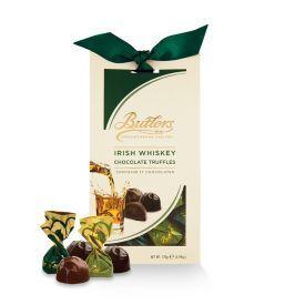 Šokoladinių triufelių rinkinys BUTLERS su airišku viskiu, 170 g