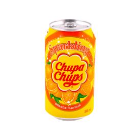 Gazuotas gėrimas CHUPA CHUPS apelsinų skonio, 345 ml