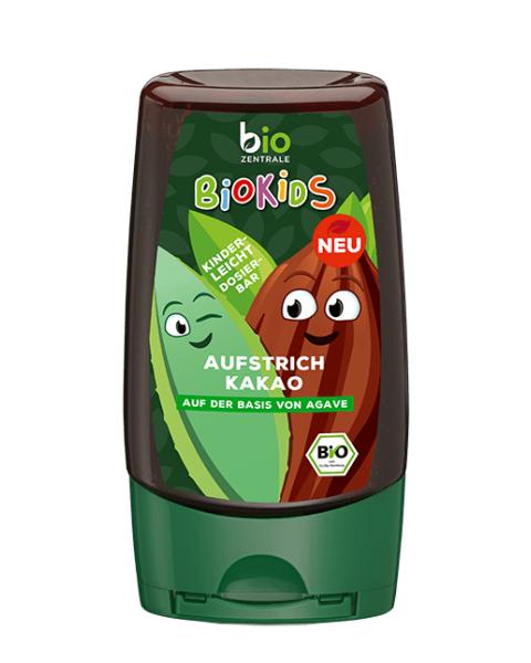 Ekologiškas kakavinis padažas BIOKIDS su agavų sirupu, 300 g
