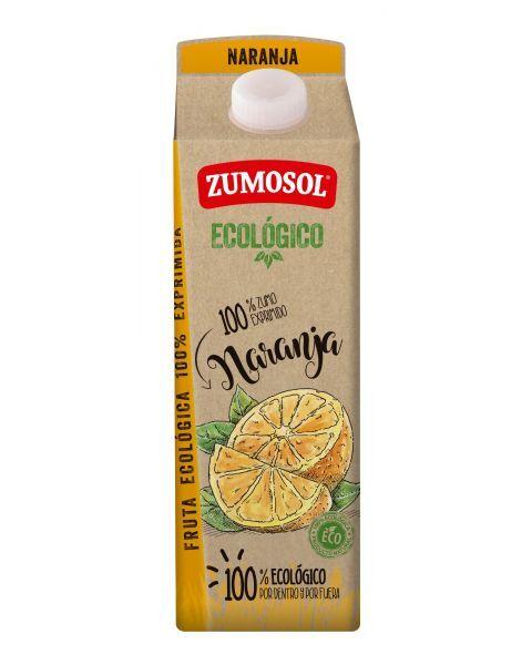 Ekologiškos apelsinų sultys ZUMOSOL, 1L
