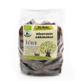 Ekologiški džiovinti abrikosai DU MEDU, 1kg