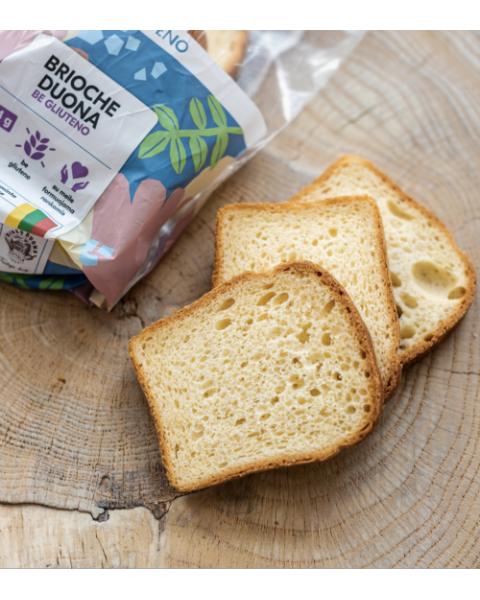 """Šviesi duona """"Brioche"""" BIRŽŲ DUONA, be gliuteno, 280g 2"""