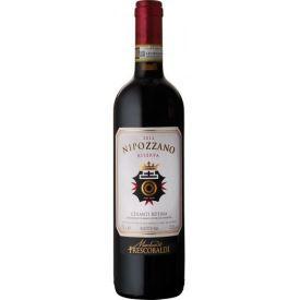 Raudonas sausas vynas Frescobaldi Nipozzano Chianti Rufina Riserva D.O.C.G. 13,5%, 750ml