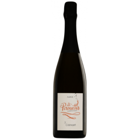 Biodinaminis putojantis vynas LES VINS PIROUETTES Crémant d'Hubert&Christian 2016 13.5%, 750 ml, sausas