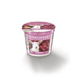 Ekologiškas avių pieno jogurtas su avietėmis MOLKEREI, 120g