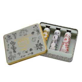 Rankų kremų rinkinys PANIER DES SENS su rožėmis, levandomis ir Provanso aromatais, 3x30 ml