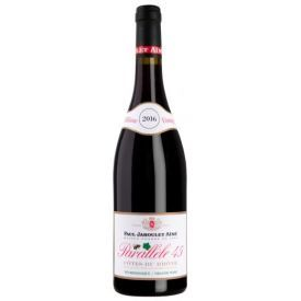 Ekologiškas raudonas sausas vynas Paul Jaboulet Parallele 45 Rouge Cotes-Du-Rhone A.C.14%, 750ml