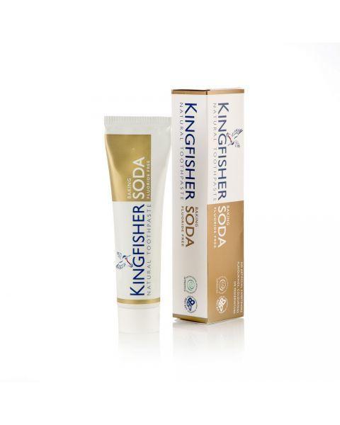 Dantų pasta su soda KINGFISHER, be fluorido, 100 ml