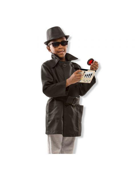 Šnipo kostiumas ir aksesuarai MELISSA & DOUG, 1 vnt. 2