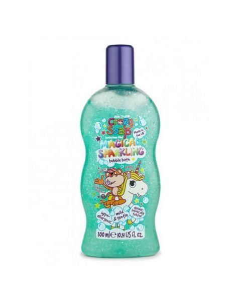Magiškai žėrinčios vonios putos KIDS STUFF Crazy Soap, 300 ml