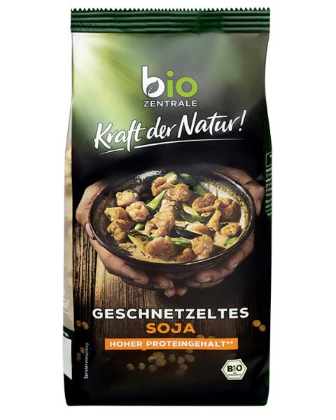 Ekologiškos sojų juostelės BIOZENTRALE, 150 g