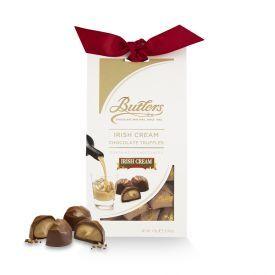 Šokoladinių triufelių rinkinys BUTLERS su airišku likeriu, 170 g