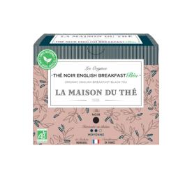 Ekologiška juodoji arbata LA MAISON DU THE English Breakfast Black Tea, 15 maišelių