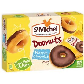 Spurgytės ST MICHEL aplietos šokoladu, 6 vnt pakuotėje, 180 g